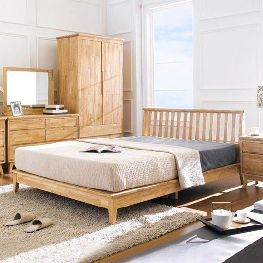 Rubberwood Bedroom Set | ANB WOOD CO.,LTD