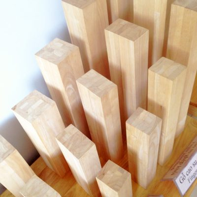 Engineered Rubberwood Components