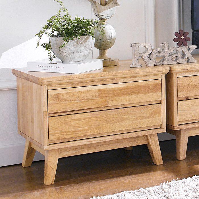 Charmant Rubberwood Bedroom Set